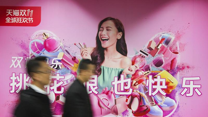 Alibaba Singles Day sales frenzy surpasses records