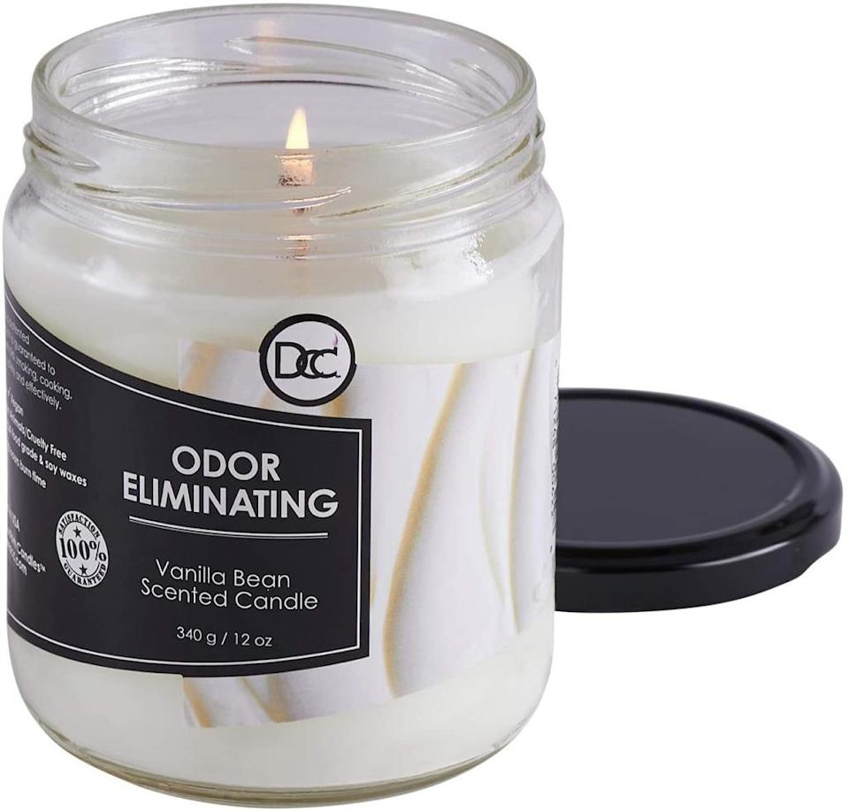 Odor Eliminating Highly Fragranced Candle by Dianne's Custom Candles Store