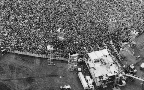 "The festival that ""changed America"" - Credit: Marty Lederhandler /AP"