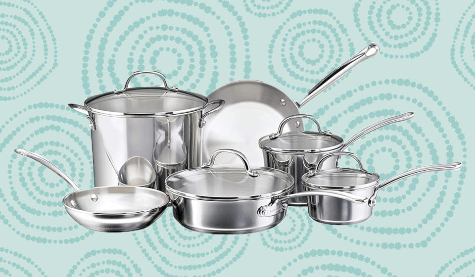 It's pure stainless steel. It's from Farberware. It's 62 percent off. Really, what more do you need to know? (Photo: Amazon)