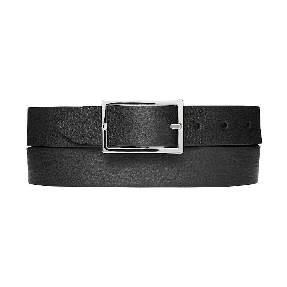 """<p><strong>Shinola</strong></p><p>nordstrom.com</p><p><strong>$125.00</strong></p><p><a href=""""https://go.redirectingat.com?id=74968X1596630&url=https%3A%2F%2Fshop.nordstrom.com%2Fs%2Fshinola-reversible-leather-belt%2F4919155&sref=https%3A%2F%2Fwww.bestproducts.com%2Flifestyle%2Fg1453%2Ffathers-day-gifts-ideas%2F"""" rel=""""nofollow noopener"""" target=""""_blank"""" data-ylk=""""slk:Shop Now"""" class=""""link rapid-noclick-resp"""">Shop Now</a></p><p>Any dapper dad will appreciate this gift and think of you every time he polishes off his look with this reversible leather belt by Shinola. One side features a warm walnut color, while the other side features a standard shade of black. Trust us — this gift is exciting for a stylish dad whose belt collection has gone stale. </p>"""
