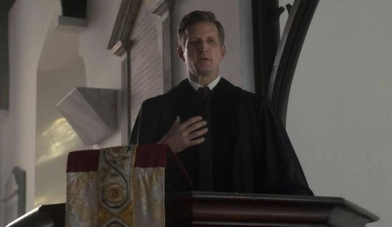 Here he is depicted in the Netflix show, The Crown. Photo: Netflix