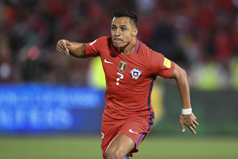 Sanchez in action for Chile in November: AFP/Getty Images