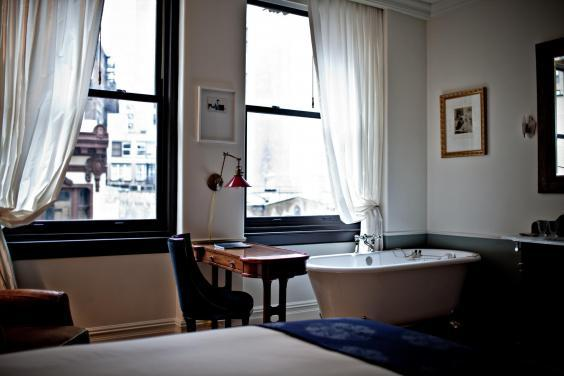 A French writing desk at NoMad Hotel (NoMad)
