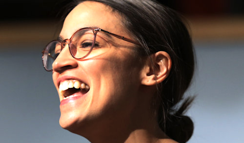 Alexandria Ocasio-Cortez isn't entering office meekly. (Boston Globe via Getty Images)
