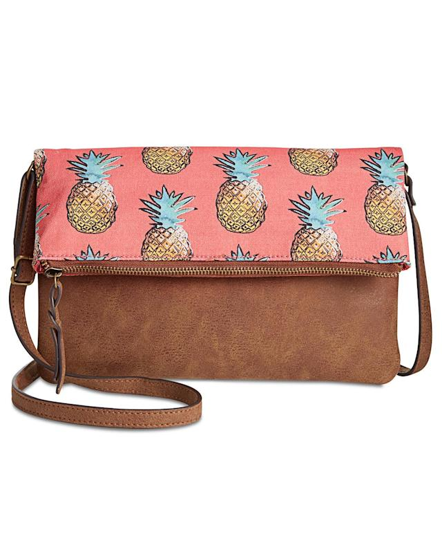 "<p>Style & Co Printed Flap Crossbody, $39.25, <a href=""https://www.polyvore.com/style_co_printed_flap_crossbody/thing?id=206954945"" rel=""nofollow noopener"" target=""_blank"" data-ylk=""slk:macys.com"" class=""link rapid-noclick-resp"">macys.com</a><br><br></p>"