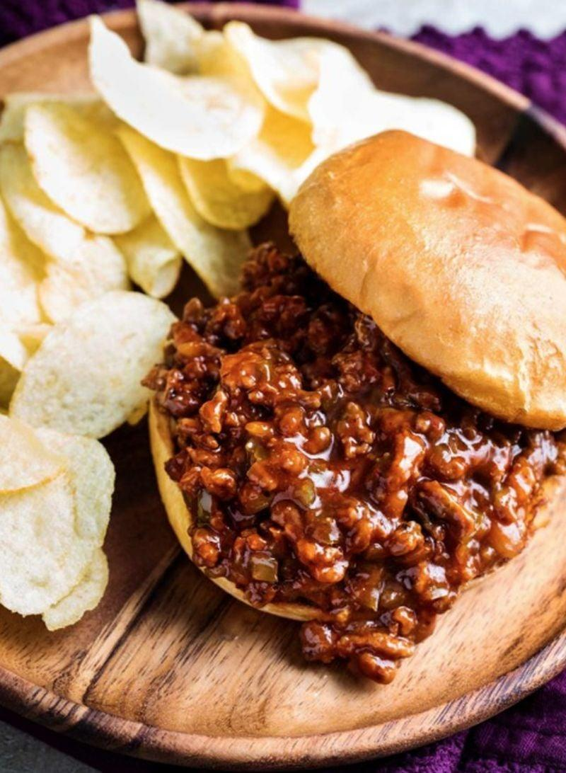 "<p>With a nostalgic nod to childhood, it's hard for anyone to turn down sloppy Joes. The messiness mixed with the rich flavor of meat makes it drool inducing.</p> <p><strong>Get the recipe</strong>: <a href=""https://blogchef.net/sloppy-joes-recipe-2/"" class=""link rapid-noclick-resp"" rel=""nofollow noopener"" target=""_blank"" data-ylk=""slk:sloppy Joes"">sloppy Joes</a></p>"