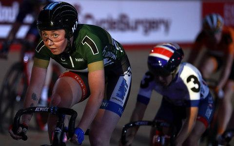 <span>Katie Archibald was in blistering form at the recent London Six Day where the Scot won the omnium</span> <span>Credit: Getty Images  </span>