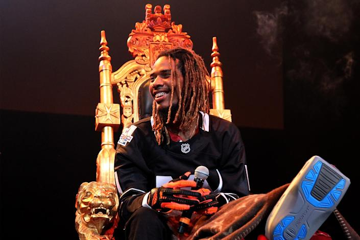 Fetty Wap's four-year-old daughter Lauren has died (Getty Images)