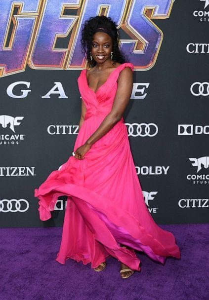 PHOTO: Danai Gurira arrives for the World premiere of Marvel Studios' 'Avengers: Endgame' at the Los Angeles Convention Center on April 22, 2019 in Los Angeles. (Valerie Macon/AFP/Getty Images)