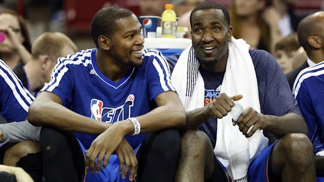 Fun between former Thunder players