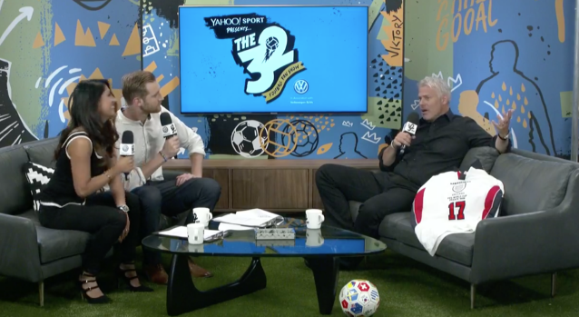 Former Newcastle and England man Rob Lee gave his World Cup views to The 32 on Thursday. (Yahoo)