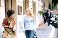 """<p>With filming for <a href=""""https://www.popsugar.com/entertainment/lizzie-mcguire-reboot-details-46817325"""" class=""""link rapid-noclick-resp"""" rel=""""nofollow noopener"""" target=""""_blank"""" data-ylk=""""slk:the Lizzie McGuire reboot"""">the <strong>Lizzie McGuire</strong> reboot</a> underway, now is the perfect time to revisit Lizzie's big-screen adventure. There's life-swapping, sightseeing, and a kiss between Lizzie and her best pal Gordo that we're still screaming over more than a decade later. </p> <p><a href=""""https://www.disneyplus.com/movies/the-lizzie-mcguire-movie/75RuSU8b2H73"""" class=""""link rapid-noclick-resp"""" rel=""""nofollow noopener"""" target=""""_blank"""" data-ylk=""""slk:Watch The Lizzie McGuire Movie on Disney+ now."""">Watch <strong>The Lizzie McGuire Movie</strong> on Disney+ now. </a></p>"""