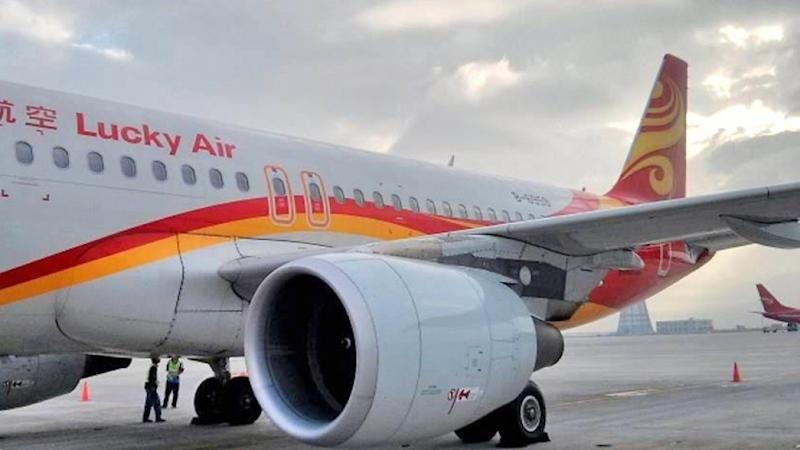 Lucky Air passenger who threw 'good luck' coins at plane ordered to pay airline US$17,200