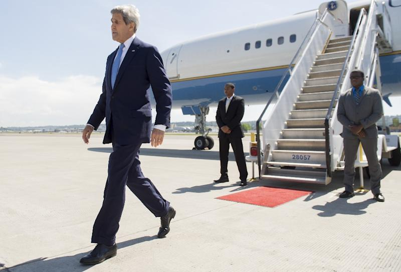 US Secretary of State John Kerry took a risky gamble facing derision and much skepticism when he flew to Russia last week for the first time in two years to meet President Vladimir Putin (AFP Photo/Saul Loeb)