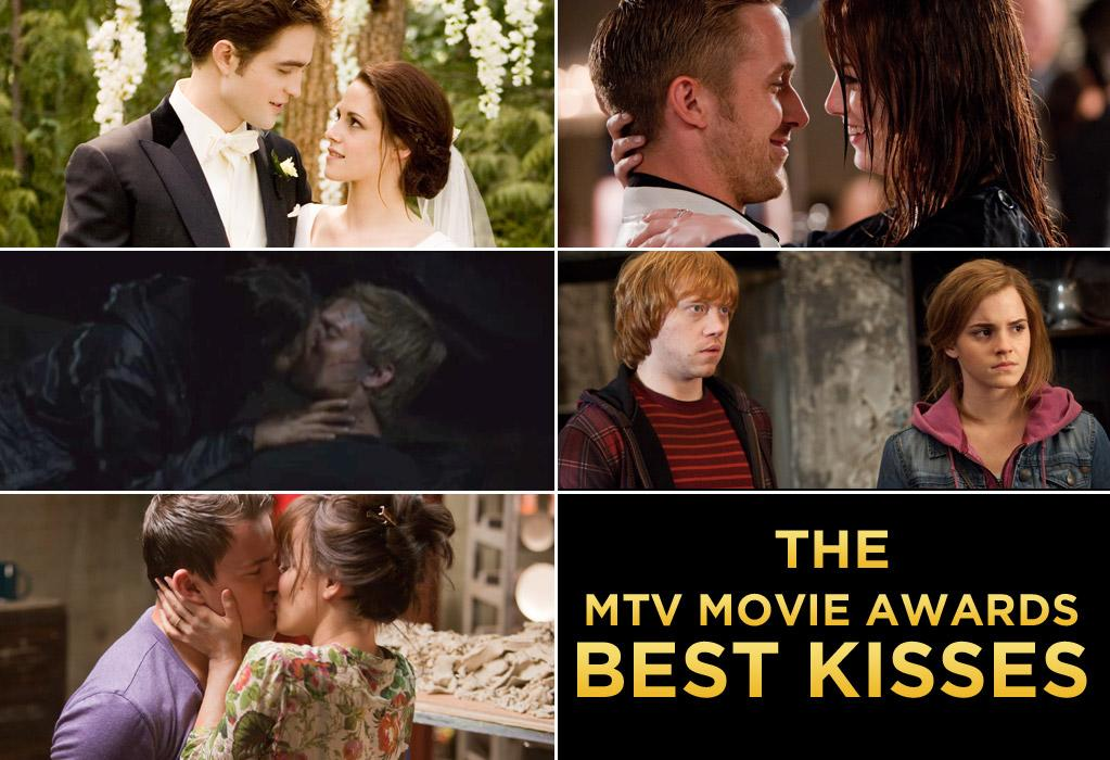 "The MTV Movie Awards have many categories you won't find at other award shows, but the one that always stands out the most is Best Kiss. Not just because the competition is tough, but there's always a chance the winners will repeat their lip-locking performance on stage. For this year's awards airing this Sunday night, Robert Pattinson and Kristen Stewart have a shot at taking their fourth consecutive award for ""Breaking Dawn - Part 1,"" but there are some strong challengers. <br><br>Two former winners, Ryan Gosling and Rachel McAdams, are competing against each other this year; Gosling with Emma Stone in ""Crazy, Stupid, Love,"" and McAdams with Channing Tatum in ""The Vow."" Jennifer Lawrence and Josh Hutcherson are nominated for their smooch in ""The Hunger Games."" And the long awaited kiss between Hermione Granger and Ron Weasley -- aka Emma Watson and Rupert Grint -- from ""Harry Potter and the Deathly Hallows - Part 2"" could also take home the Golden Popcorn. <br><br>To get ready for the event, take a look back at some of the past Best Kiss winners who steamed it up both on movie screens and on the show."