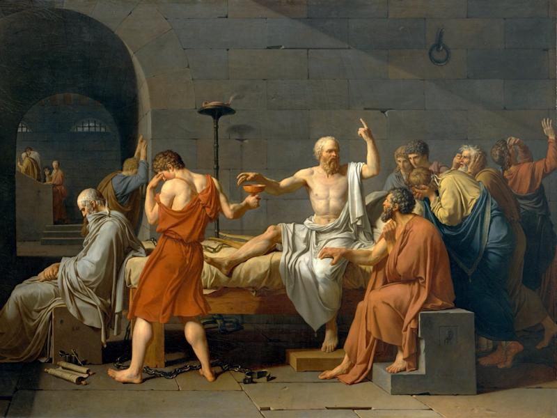 David The Death of Socrates