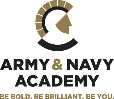 Army and Navy Academy's official logo (PRNewsfoto/Army and Navy Academy)