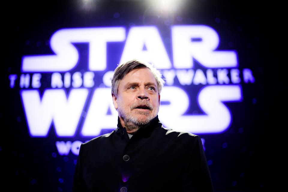 "Mark Hamill bei der Premiere von ""Star Wars: The Rise Of Skywalker"" am 16. Dezember 2019 in Hollywood. (Bild: Rich Fury/Getty Images)"