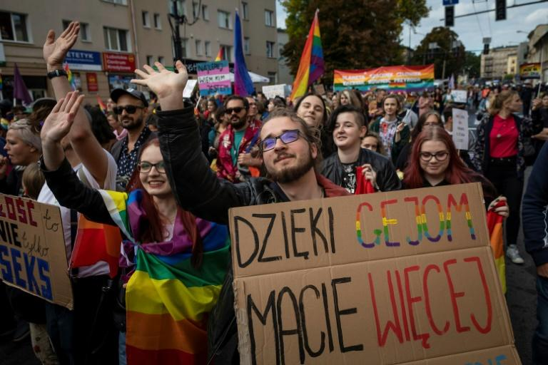 Lesbian, gay, bisexual and transgender rights have become a hot button issue ahead of the  October 13 elections in the devout Catholic country