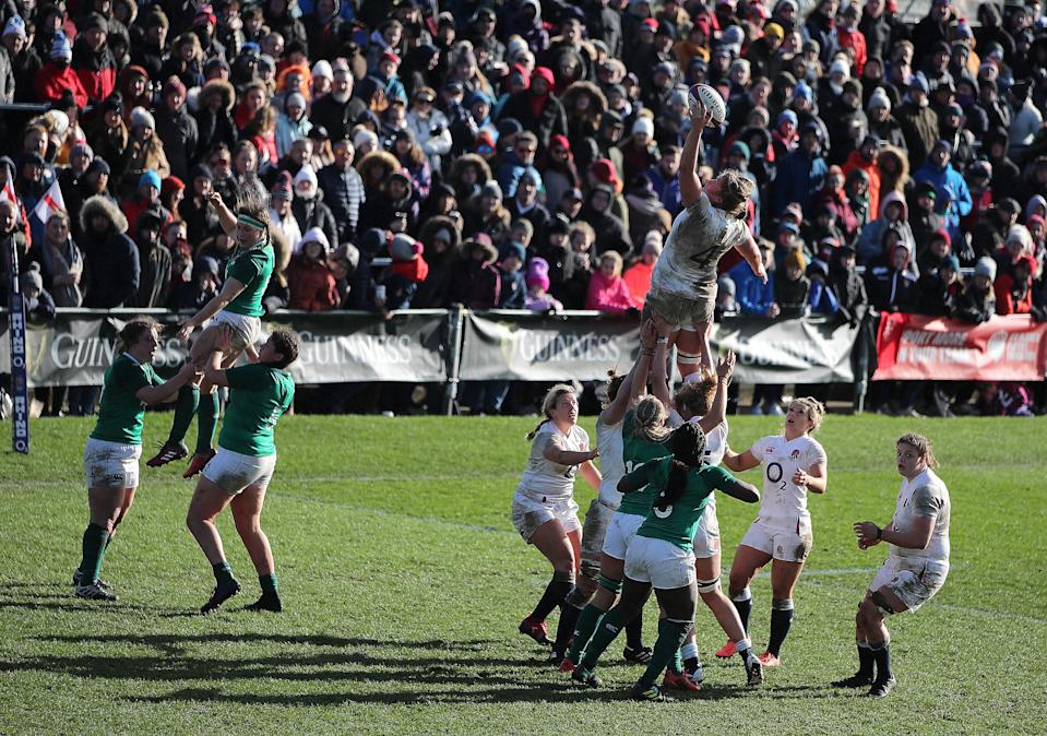 Ireland will battle for third place in the 2021 Women's Six Nations when they come up against Italy on Super Saturday © Action Images via Reuters
