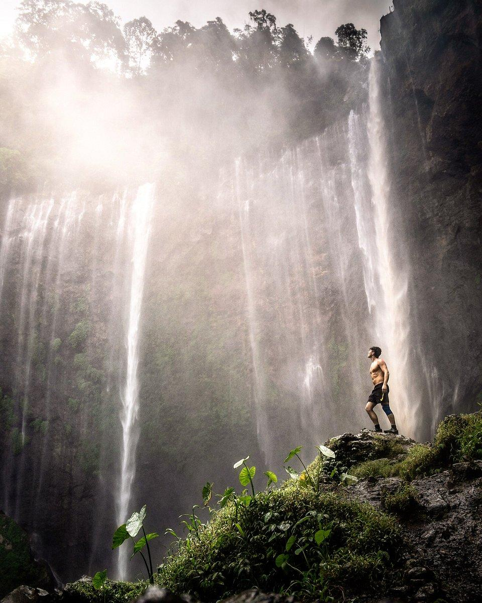 'Indonesia's largest waterfall' by @hugohealy, UK. (Hugo Healy/AGORA images)