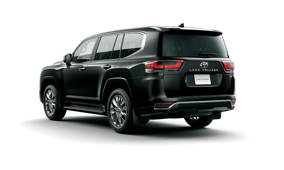 <p>The last time there was a new Land Cruiser was when the 200 series launched in 2007. This new model, dubbed the 300 series, has the same body-on-frame construction, but it's built on the new GA-F platform. It'll be on sale at the end of the month in GX, AX, VX, GR Sport, and ZX models starting at the equivalent of $46,679 in Japan. </p>