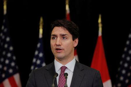 Canada's Trudeau defends dairy system after Trump criticism