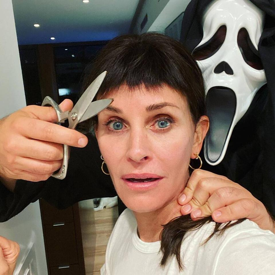 Courteney Cox Halloween 2020