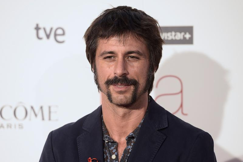 Actor Hugo Silva at the premiere of the film 'Ma Ma' in Madrid, Spain, on September 9th, 2015