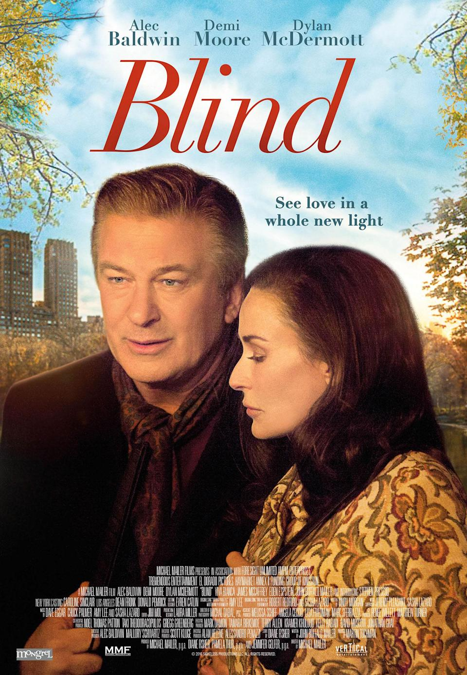 <p>Alec Baldwin here, doing the classic 'blind acting' move of looking slightly off camera. See? Blind. It's not Baldwin's fault, but this poster almost looks like the kind of cheesy movie poster parody you'd see in an episode of '30 Rock' – you half expect to see the strapline 'From the director of The Rural Juror'. </p>