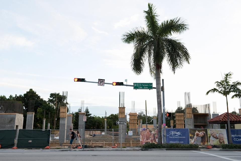 As high-rise developers come into Little Havana's historic landscape, Calle Ocho is surrounded by construction.