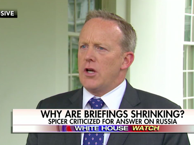 Sean Spicer Confirms WH 'Meeting with Potential People' for Press Vacancies