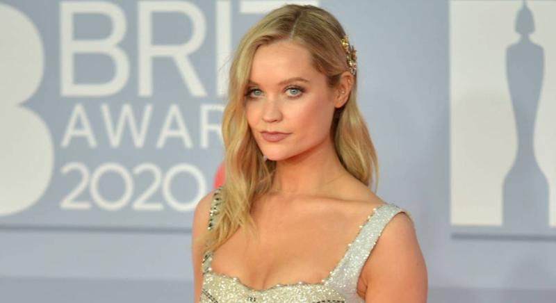 Love Island host Laura Whitmore loves these affordable illuminator drops (Getty Images)