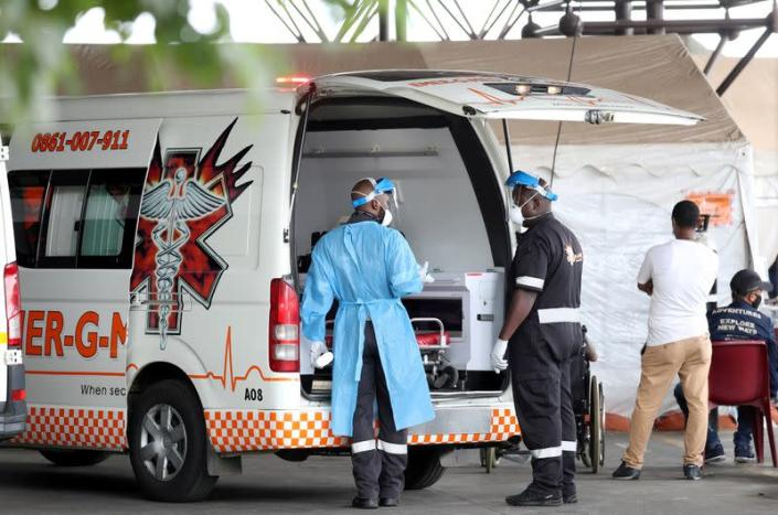 FILE PHOTO: A nationwide coronavirus disease (COVID-19) lockdown, in South Africa