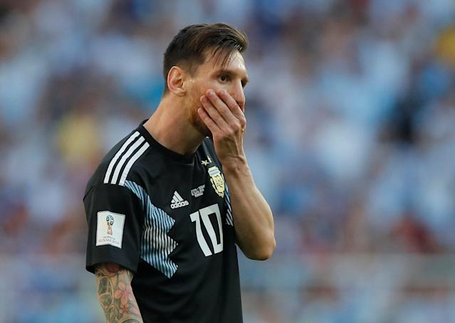 Argentina vs Croatia LIVE, World Cup 2018: Latest score, goal updates, TV, watch online, highlights, team news, line-ups - Lionel Messi in action