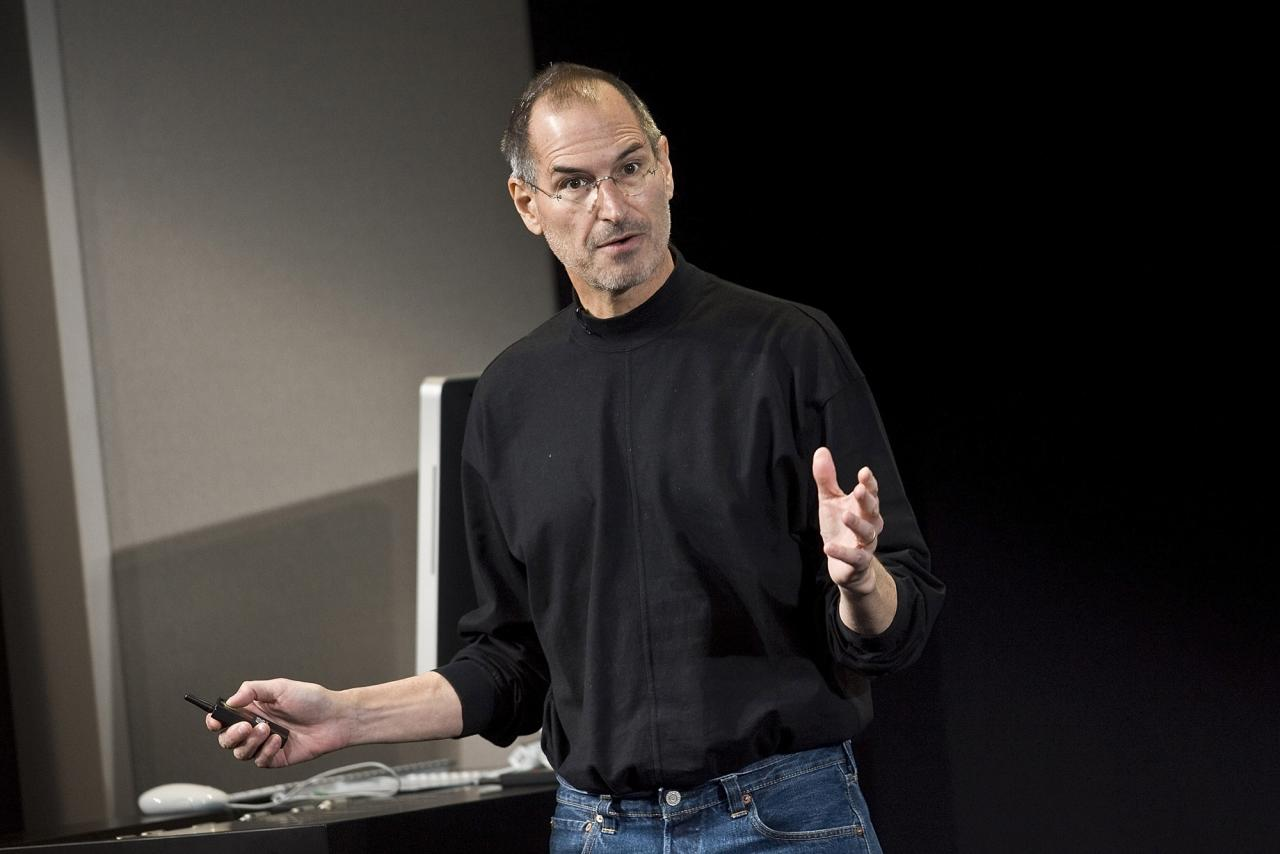 Apple's most successful product might not have been created without a nudge from Steve Jobs' team.