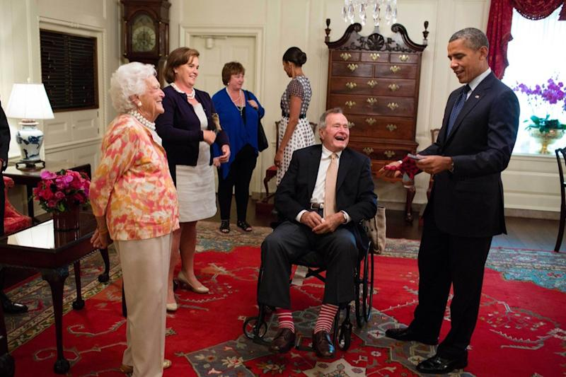 Why Lifelong Sock Lover George H W Bush Will Be Buried In This Pair