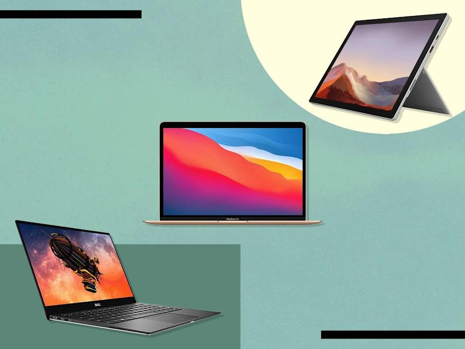 Portable, versatile laptops can be found for less than £300 (iStock/The Independent)