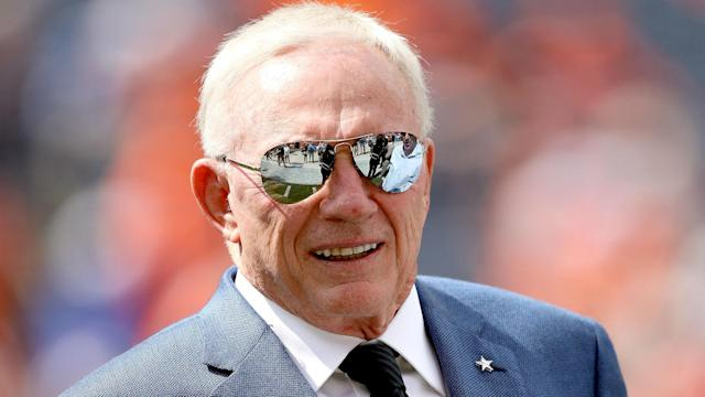 Jerry Jones is now the target of a labor union investigation. (AP)