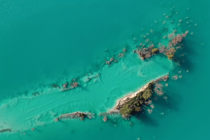 The Wider Image: Seen from the sky: polluted waters around the world
