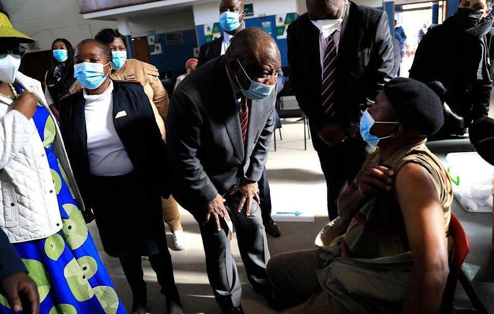 South Africa Local Government Elections (Copyright 2021 The Associated Press. All rights reserved.)
