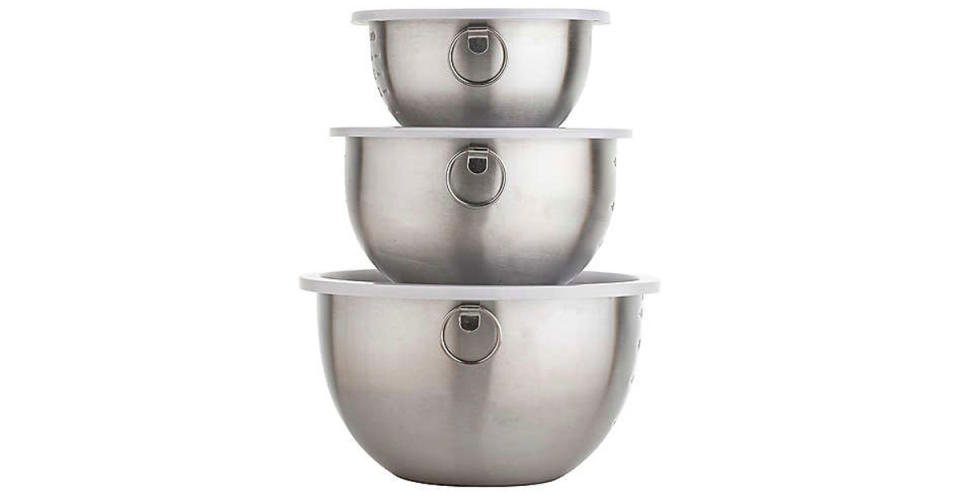 Simply Essential Stainless Steel Mixing Bowls (Photo: Bed Bath & Beyond)