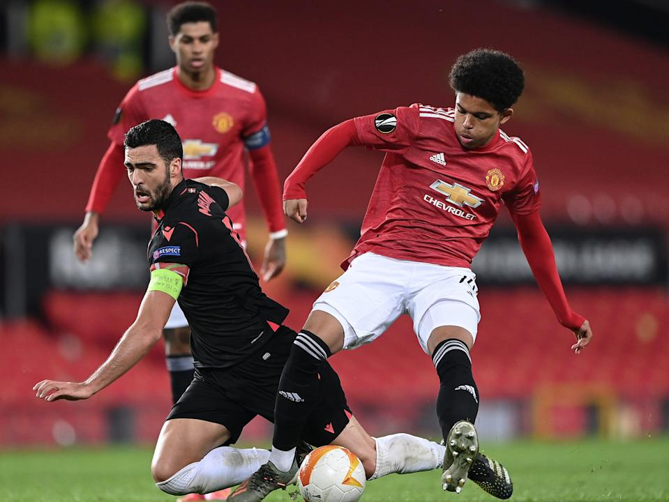 Manchester United youngster Shola Shoretire (Getty Images)