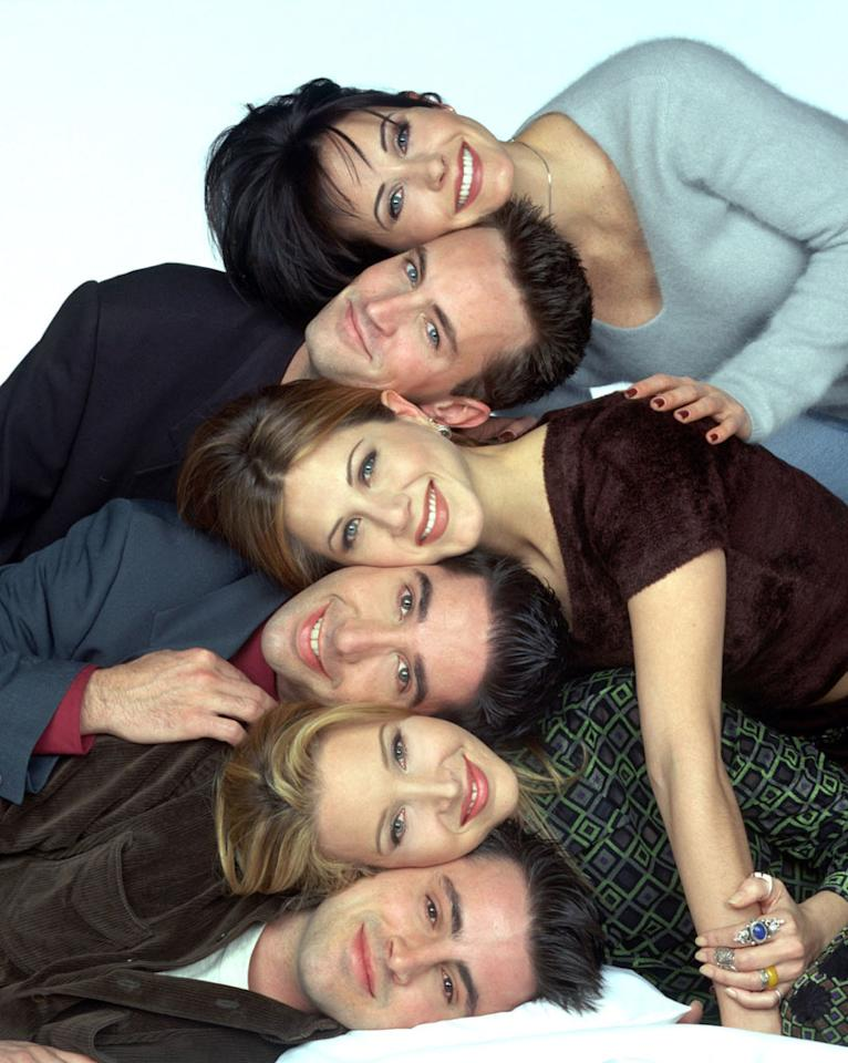 "<b>The cast of ""Friends"" </b><br><br>Their theme song was ""I'll Be There For You"" – and they sure were, with the six main cast members of NBC's Gen-X sitcom banding together to negotiate as a group when their initial contracts ran out in 2001. They teamed up for a small salary bump in 1996, but this time, they aimed big: a leap from $125,000 per episode to $800,000, along with back pay for the previous season. The impasse actually progressed to the point where NBC prepared promos that advertised the May 2001 finale as the series' final episode. But cooler heads prevailed, and all six ""Friends"" returned for three more seasons, eventually pulling in $1 million each per episode. That'll buy quite a few cappuccinos at Central Perk."