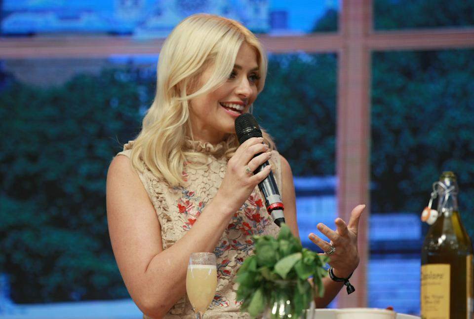 BIRMINGHAM, UNITED KINGDOM - MAY 18: Holly Willoughby at This Morning Live held at the NEC Birmingham on May 18, 2017 in Birmingham, England.   PHOTOGRAPH BY Graham Stone / Barcroft Images  London-T:+44 207 033 1031 E:hello@barcroftmedia.com - New York-T:+1 212 796 2458 E:hello@barcroftusa.com - New Delhi-T:+91 11 4053 2429 E:hello@barcroftindia.com www.barcroftimages.com (Photo credit should read Graham Stone / Barcroft Media via Getty Images / Barcroft Media via Getty Images)