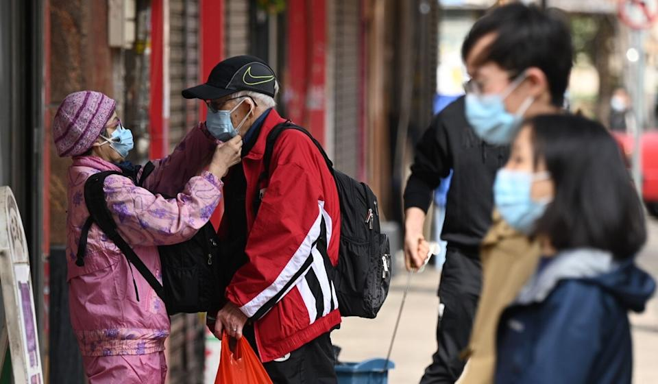 The boss of Hong Kong's Elderly Commission has called for the city's vaccine campaign in care homes to go ahead as planned. Photo: AFP