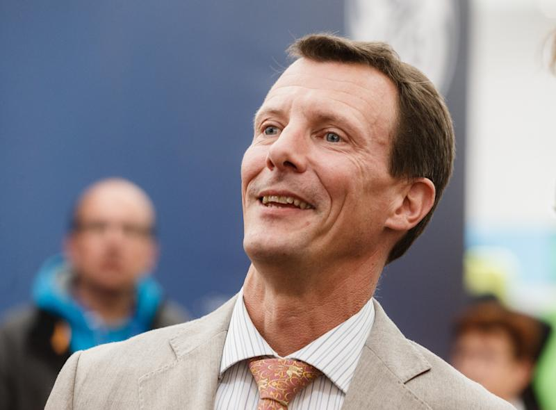 Prince Joachim of Denmark visits the 'HUSUM Wind' wind energy trade fair in Husum,Germany, 14 September 2017. The trade fair is to run until 15 September 2017. Photo: Markus Scholz/dpa (Photo by Markus Scholz/picture alliance via Getty Images)