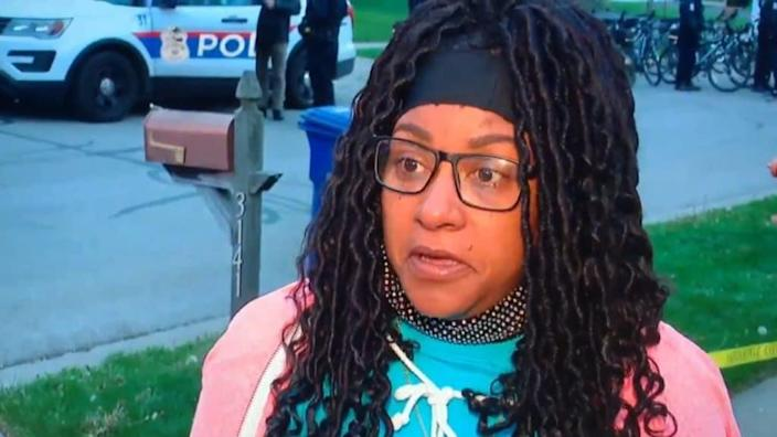Paula Bryant (above), the mother of Ma'Khia Bryant, confirmed that her daughter, Ma'Khia Bryant, 16, was reportedly shot and killed by a police officer in southeast Columbus Tuesday.