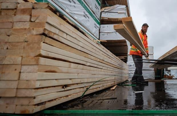 Liberal MLA Robert Henderson said he knows people in his district who had to stop construction because of the rising price of building materials.  (Darryl Dyck/The Canadian Press - image credit)
